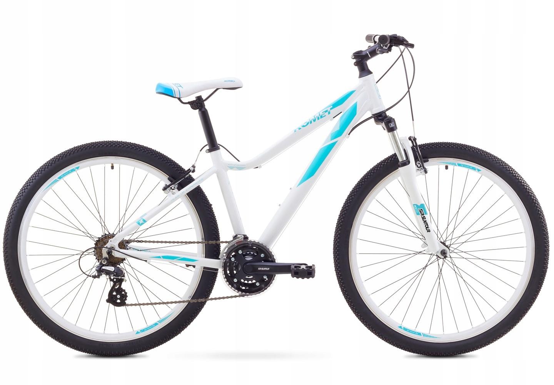 17 Rower ROMET JOLENE 27,5 1 biało-niebieski