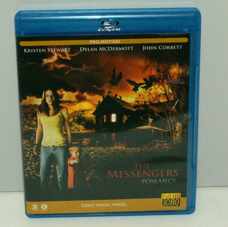 FILM THE MESSENGERS POSŁAŃCY BLU RAY