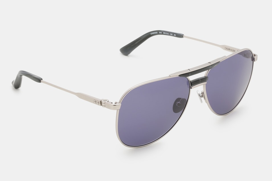 Calvin Klein CK8050S Aviator Sunglasses