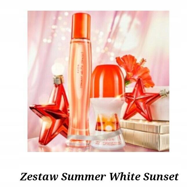Avon Summer White Sunset + kulka NAJTANIEJ! promo!