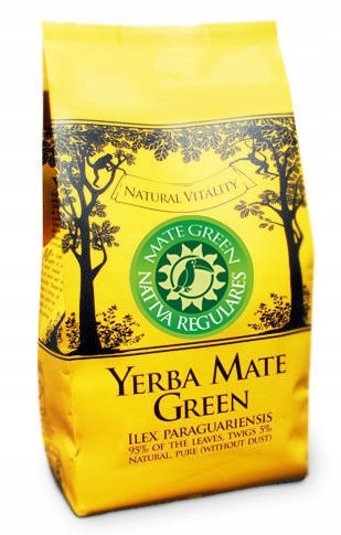 Yerba Mate Green NATIVA CON HIERBAS REGULARES 400g