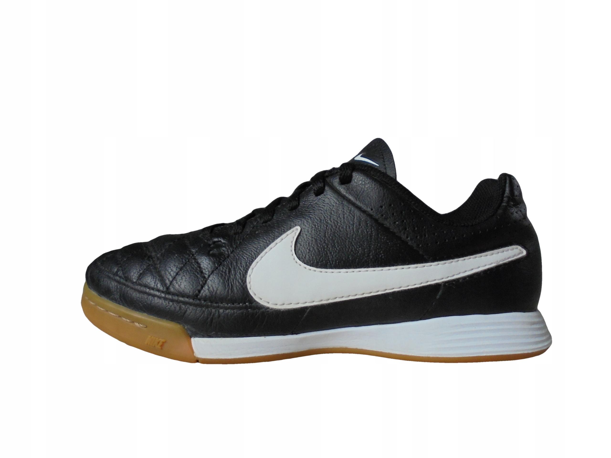 Skórzane buty Nike Tiempo. Stan Idealny. r 35