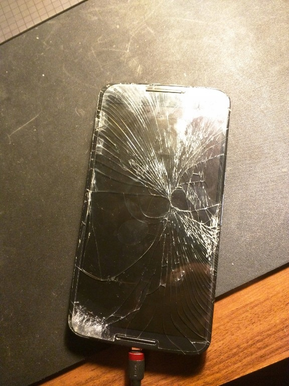 Motorola Nexus 6 zbity ekran