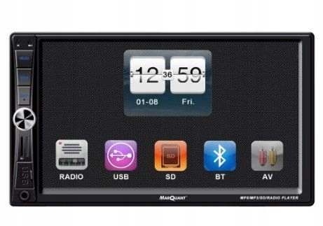4x40W radio pilotTV HD 7cali ekran dotykowy kam co