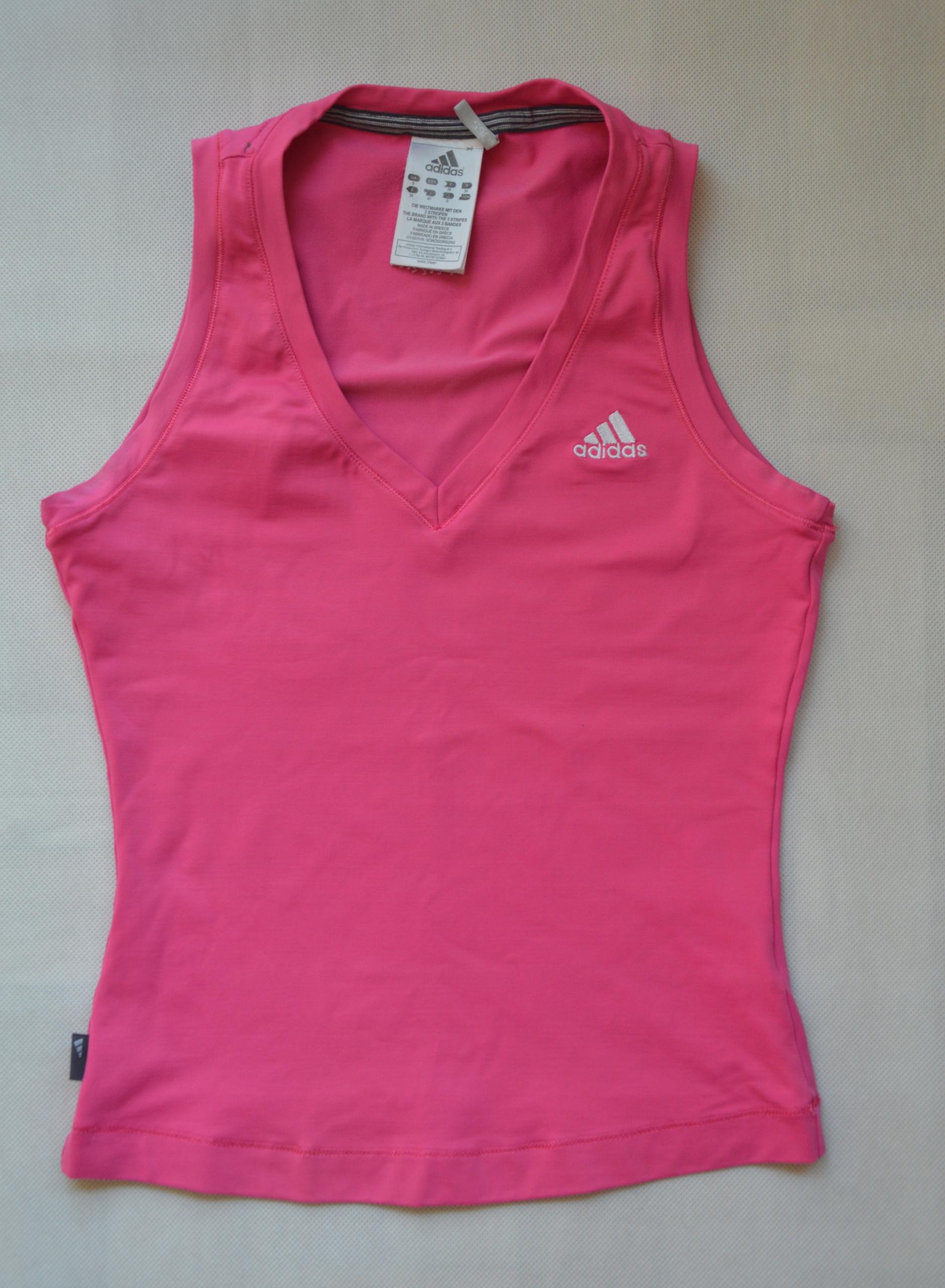 Koszulka sportowa Adidas t-shirt siłownia 34 XS
