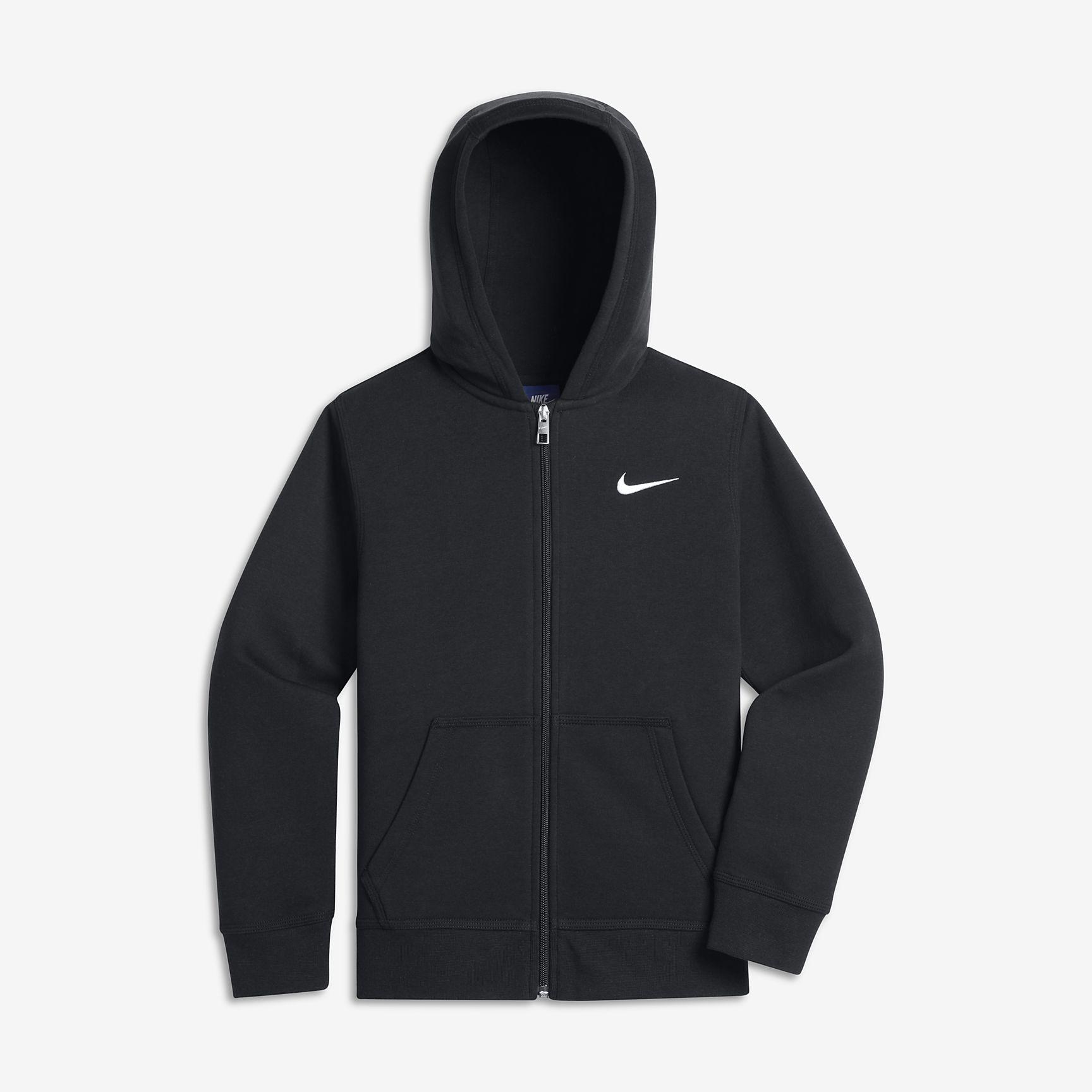 Bluza Nike Brushed Fleece Full-Zip JR S 128-137