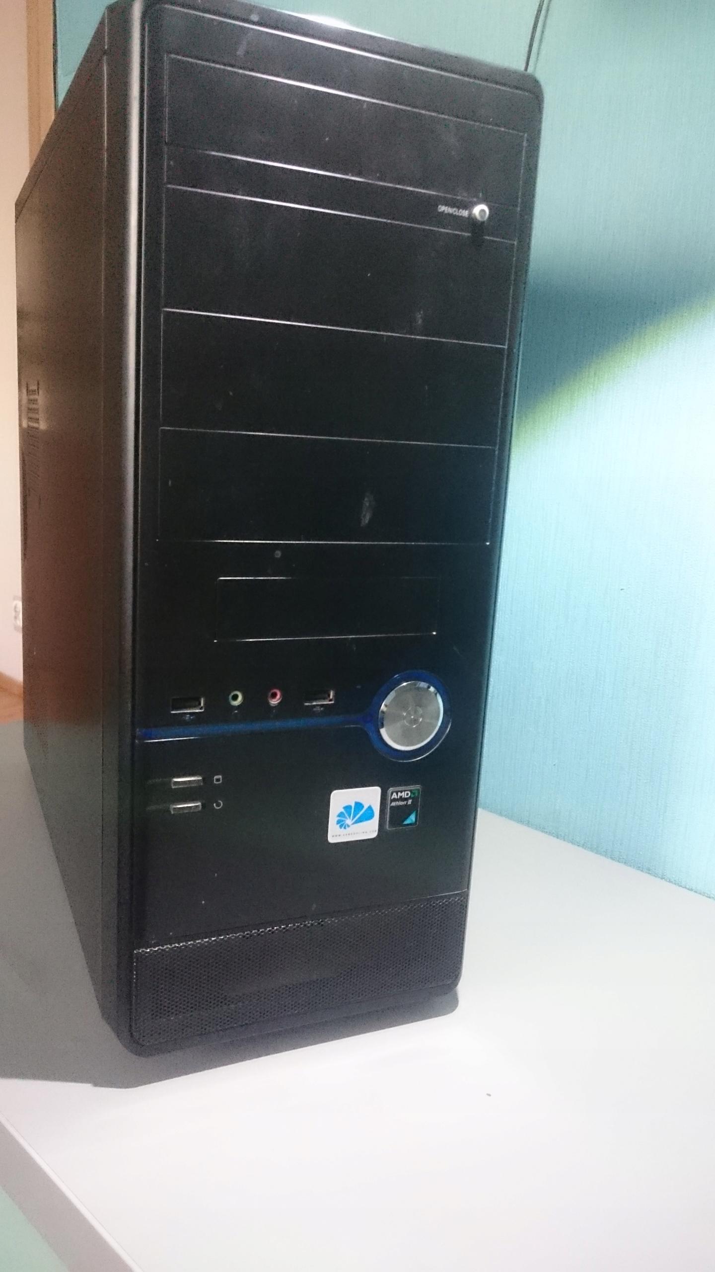 Komputer stacjonarny AMD, 8 GB RAM, NVIDIA