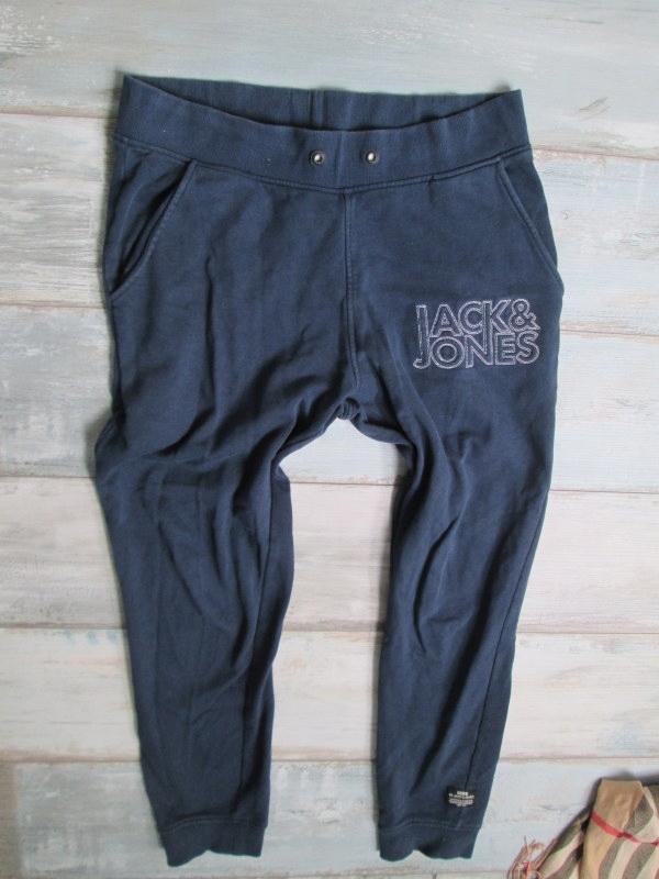 JACK JONES___męskie spodnie dresy dresowe__40 L