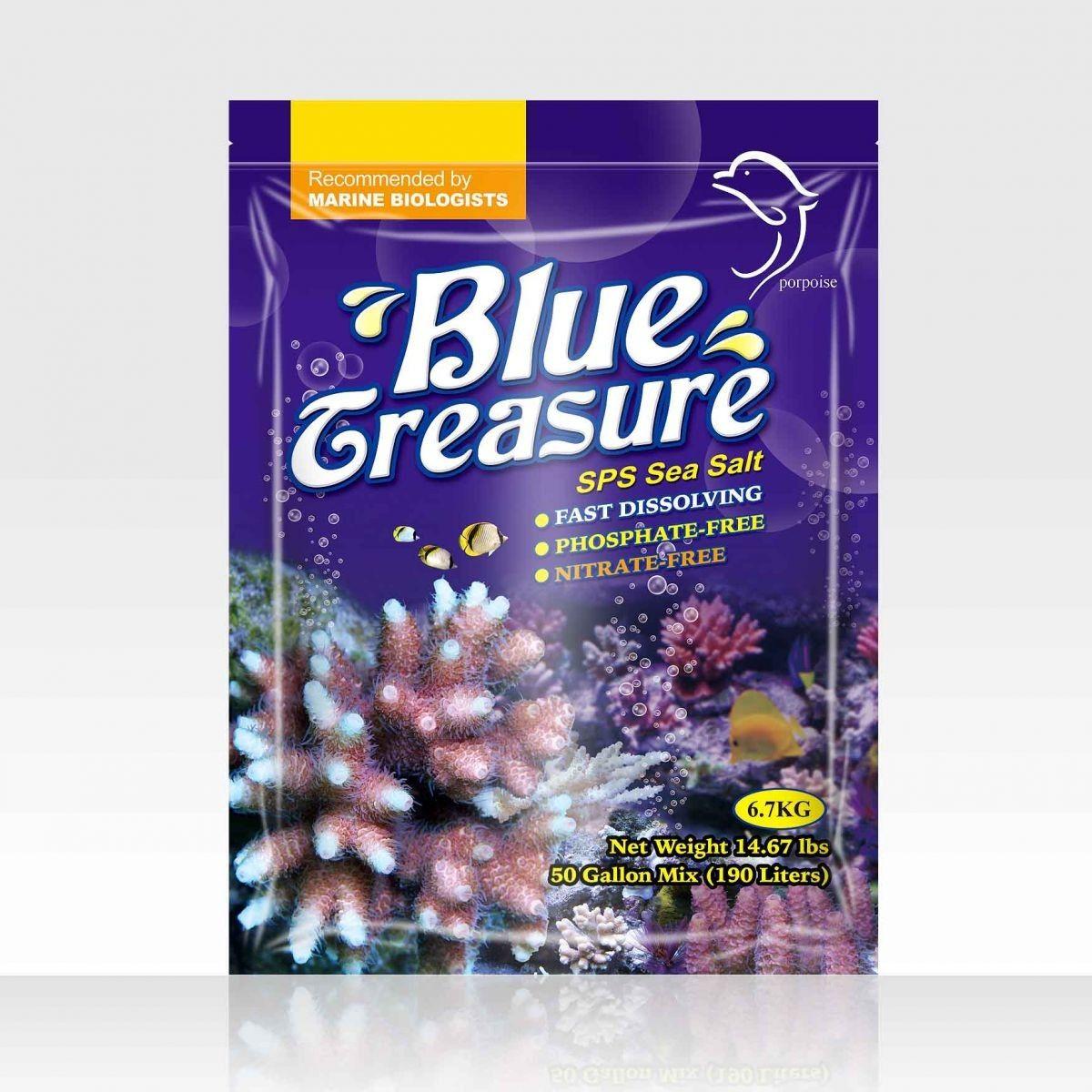 BLUE TREASURE SPS SEA SALT 6,7KG