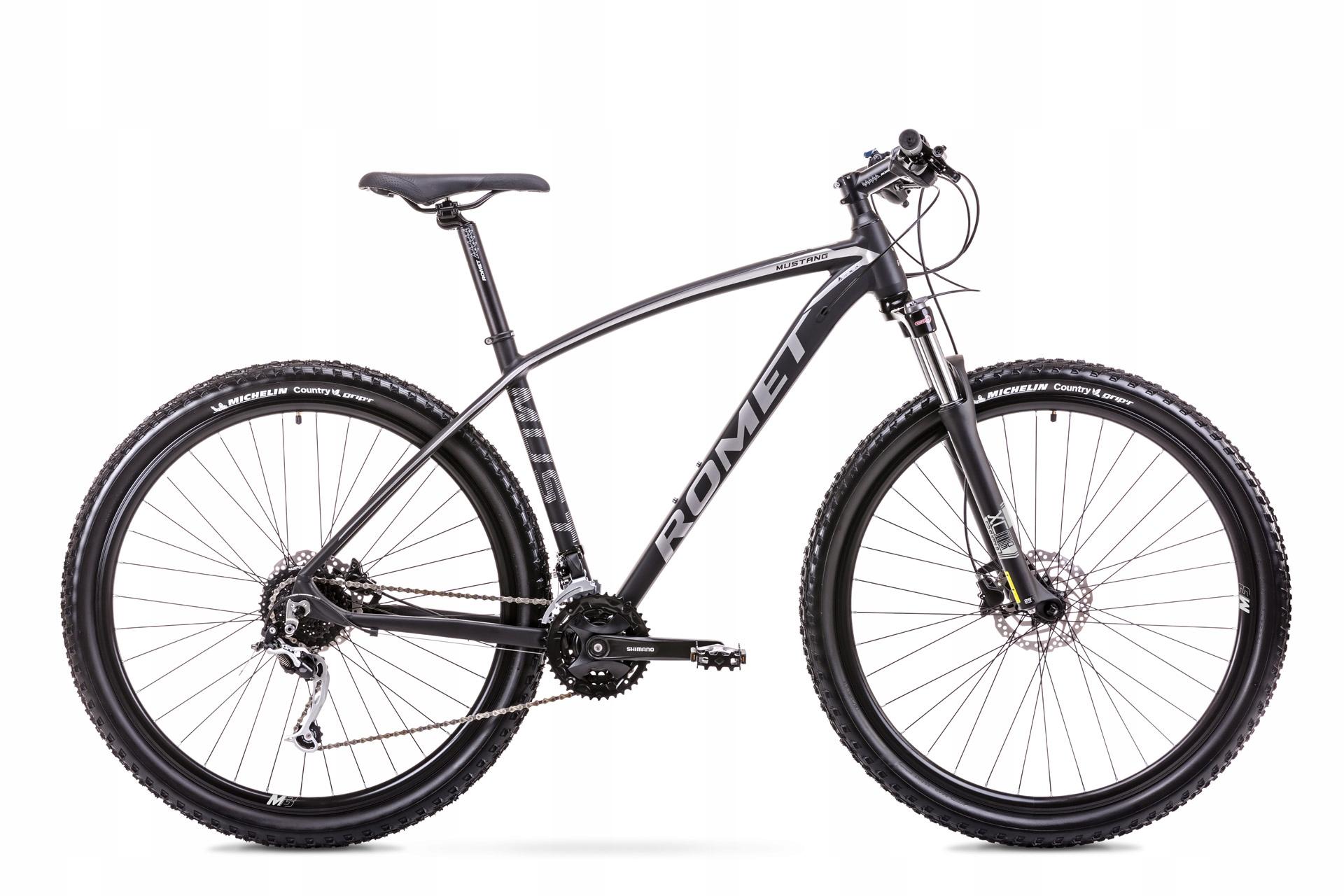 Rower Romet MUSTANG M3 29 2019 czarno srebrny