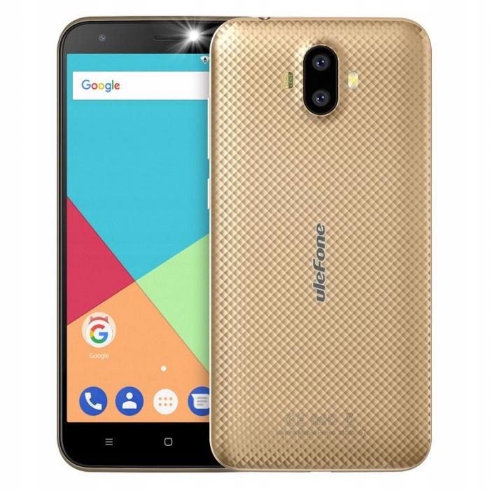 Ulefone S7 MTK6580 | 1GB | 8GB | A7.0 | ZŁOTY