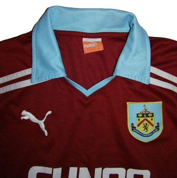 KOSZULKA BURNLEY FC PUMA S 2012 11 THE CLARETS