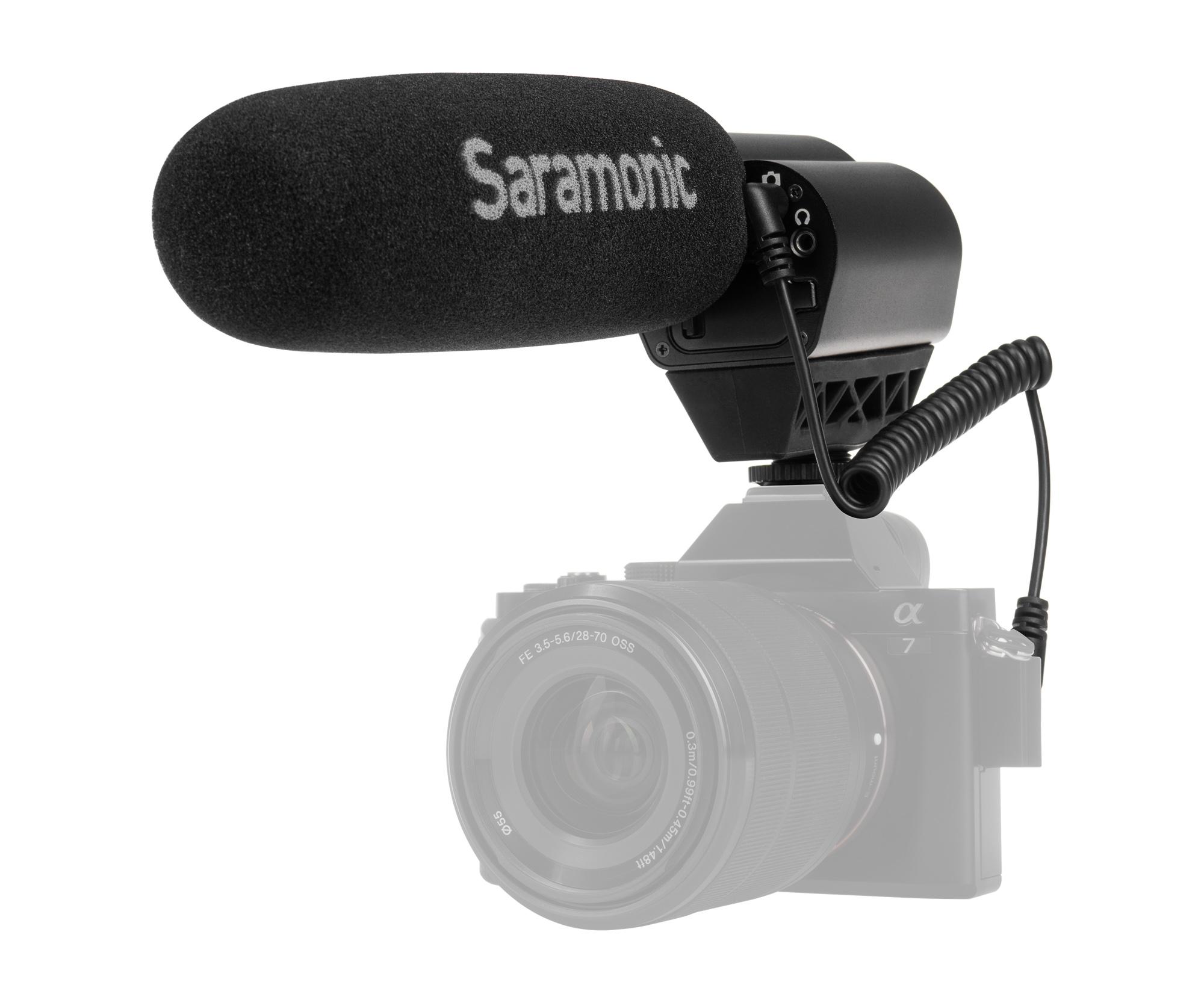 Mikrofon pojemnościowy Saramonic Vmic Pro do kamer