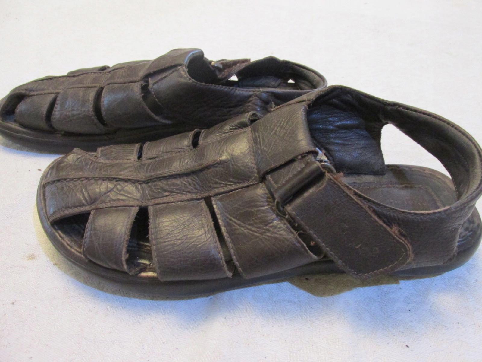 GABOR_buty męskie_sandały 43 brąz
