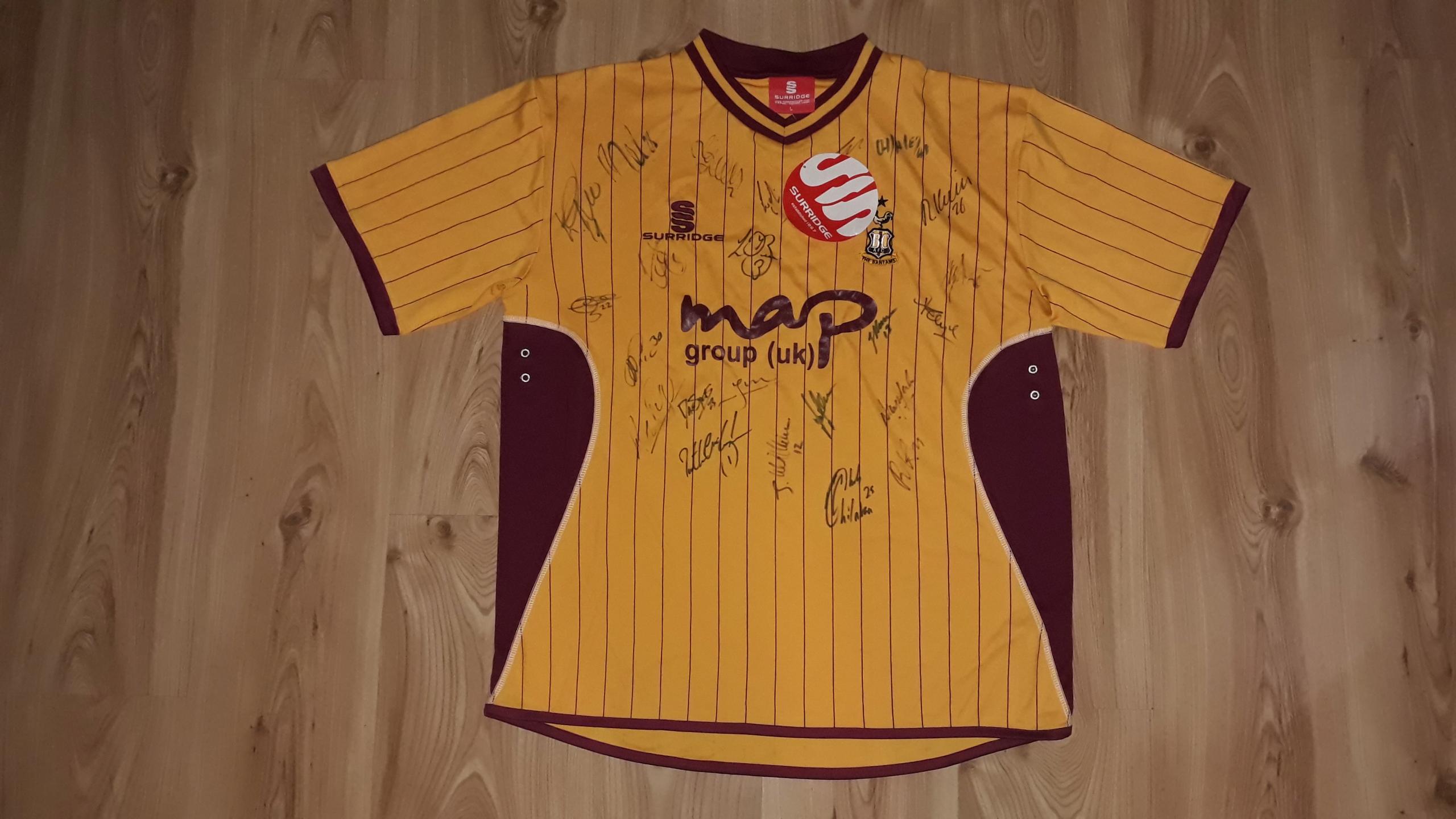 Koszulka Surridge Bradford City kolekcjonerska 25A