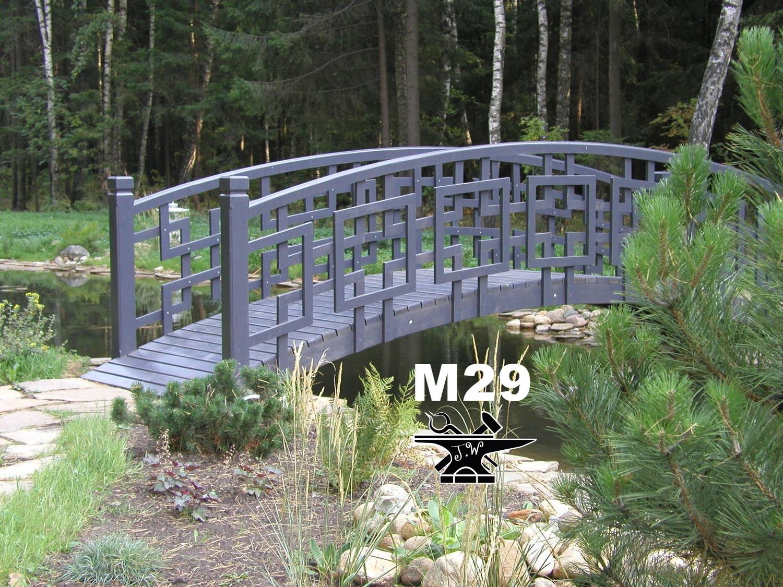 Mostek Kuty Ogrodowy Kładka Oczko Wodne Pomost M29 7705122939