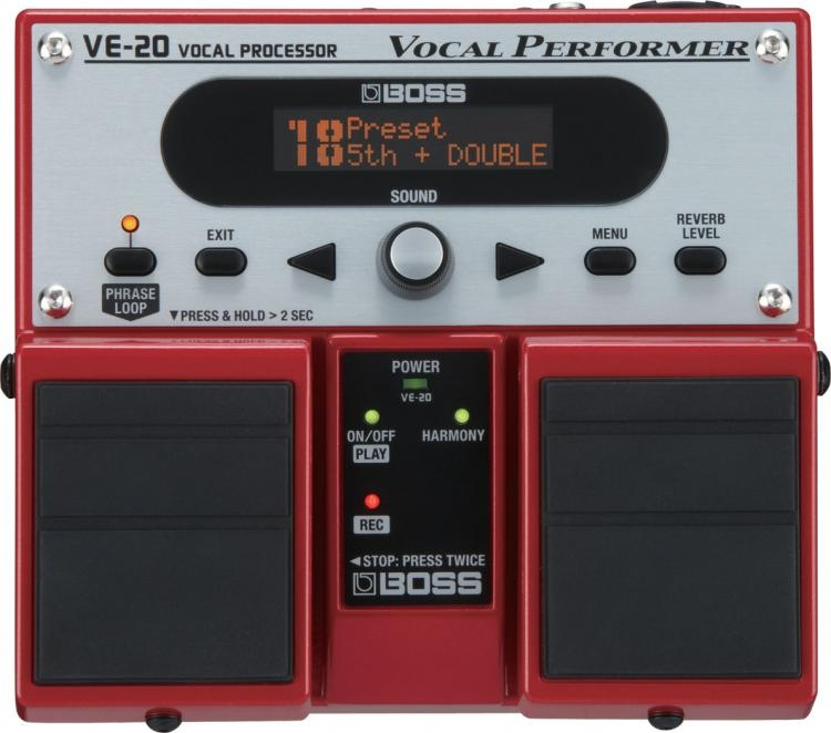 BOSS VE-20 PROCESOR WOKALOWY EFEKT DO WOKALU