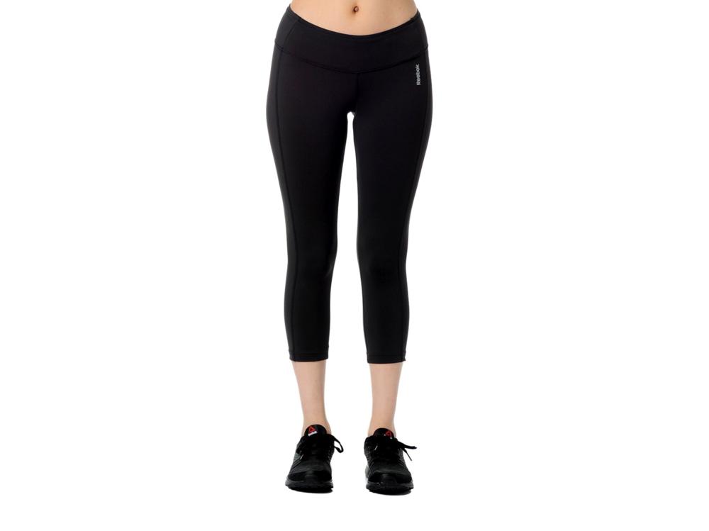 Legginsy sportowe 3/4 REEBOK fitness B86101 CZARNE