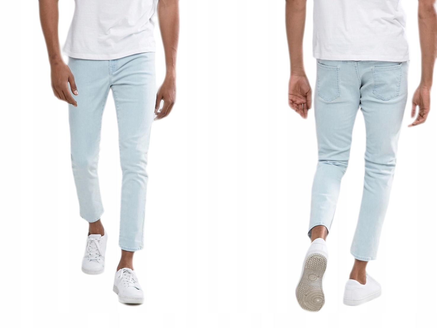 Brooklyn jeansowe spodnie męskie W30 L32