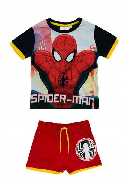 Komplet Bluzka i spodenki SPIDERMAN 128 cm Disney