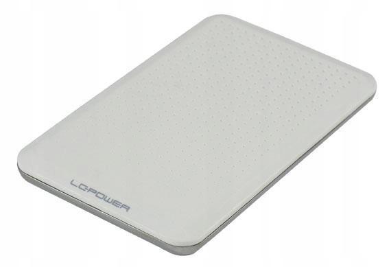 OBUDOWA 2,5'' LC-25WU3 USB 3.0 SATA-600 BIALA