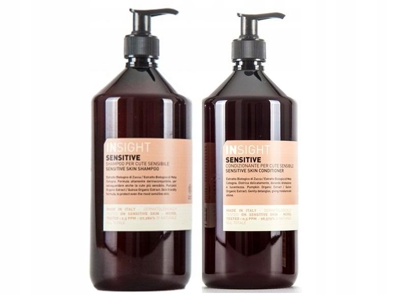 INSIGHT Sensitive szampon 900ml + odżywka 900ml