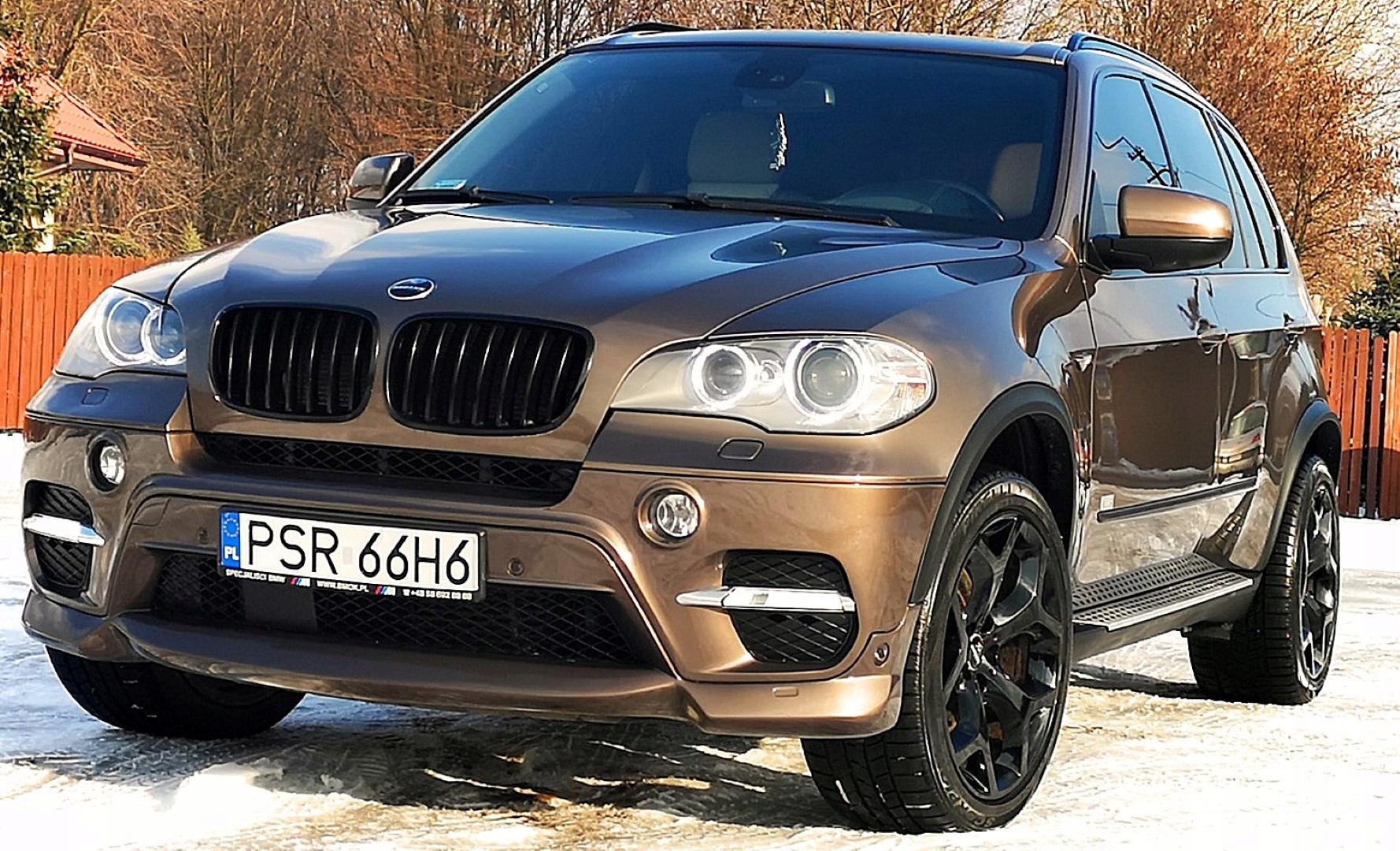 BMW X5 40dA M-Sport+Tuning Haman Full+7os+TV+2xDVD