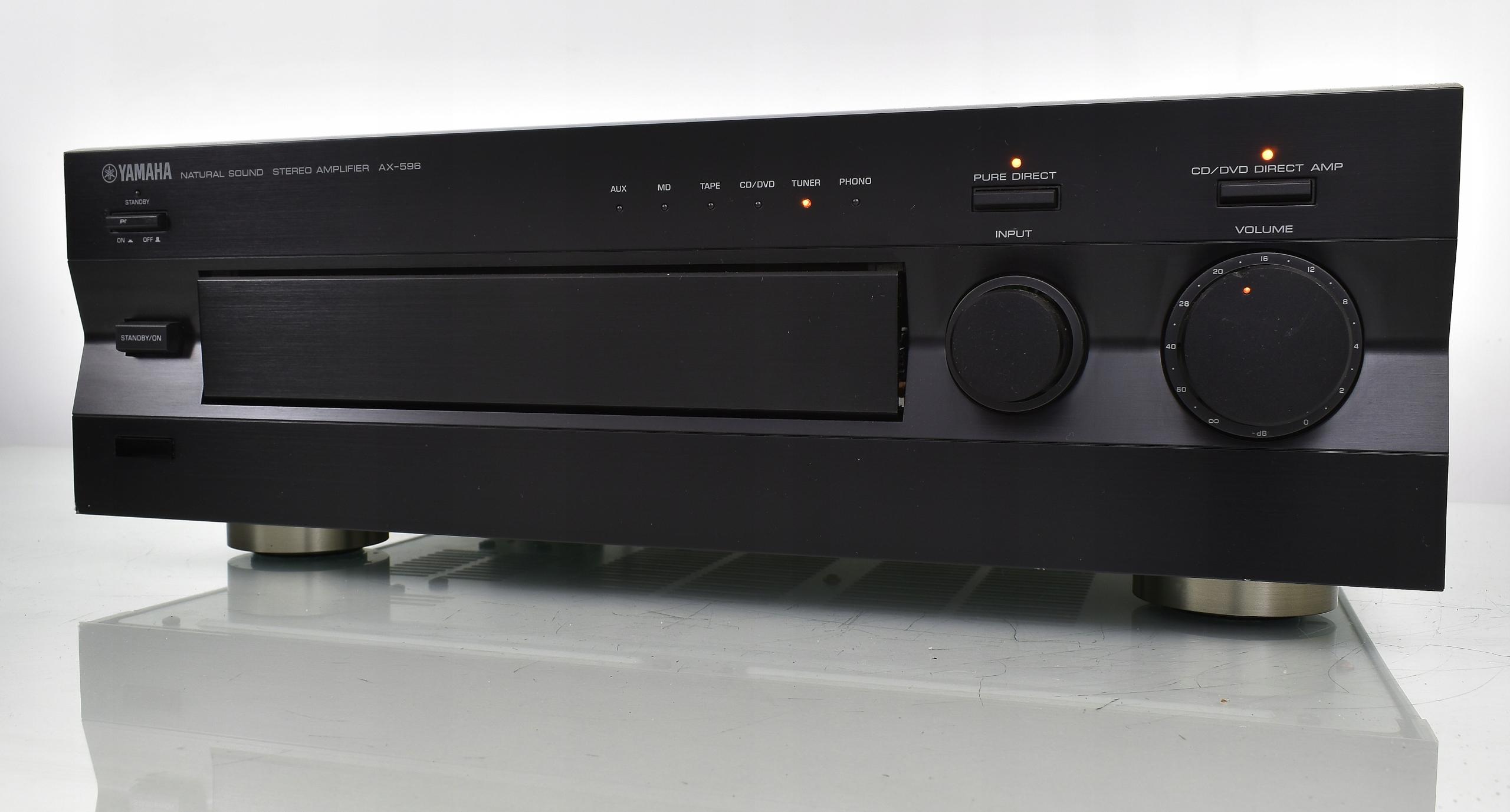 Yamaha AX-596 Mocny wzmacniacz stereo