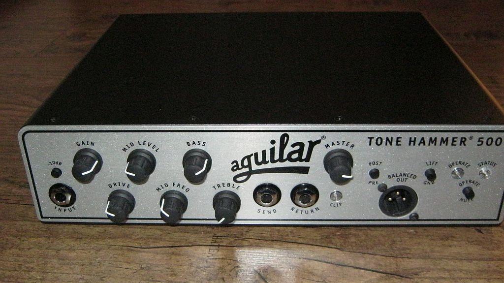 Aguilar Tone Hammer 500.Idealny!!!
