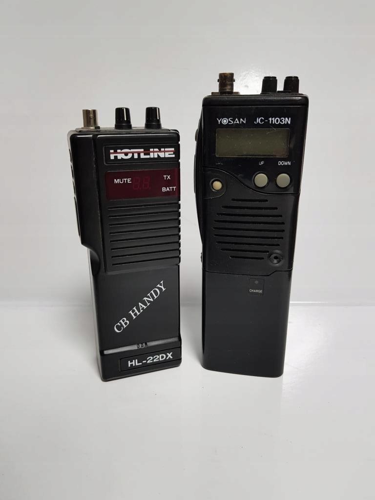 2 Uszkodzone cb-radia
