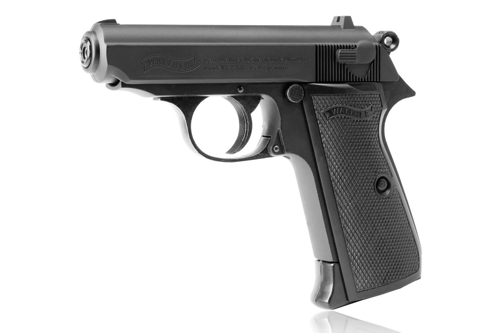 Wiatrówka Pistolet Walther PPK/S Blow Back ZESTAW