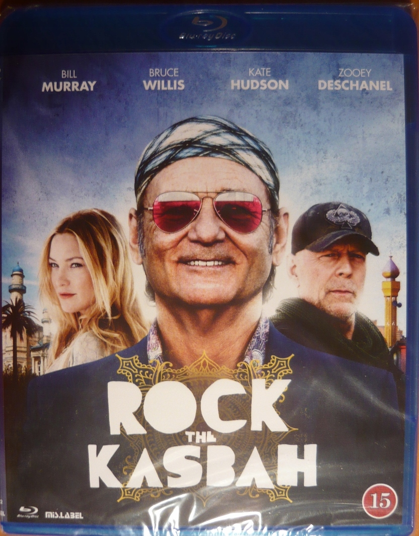 ROCK THE KASBAH B.Murray,B.Willis (folia) UNIKAT!!