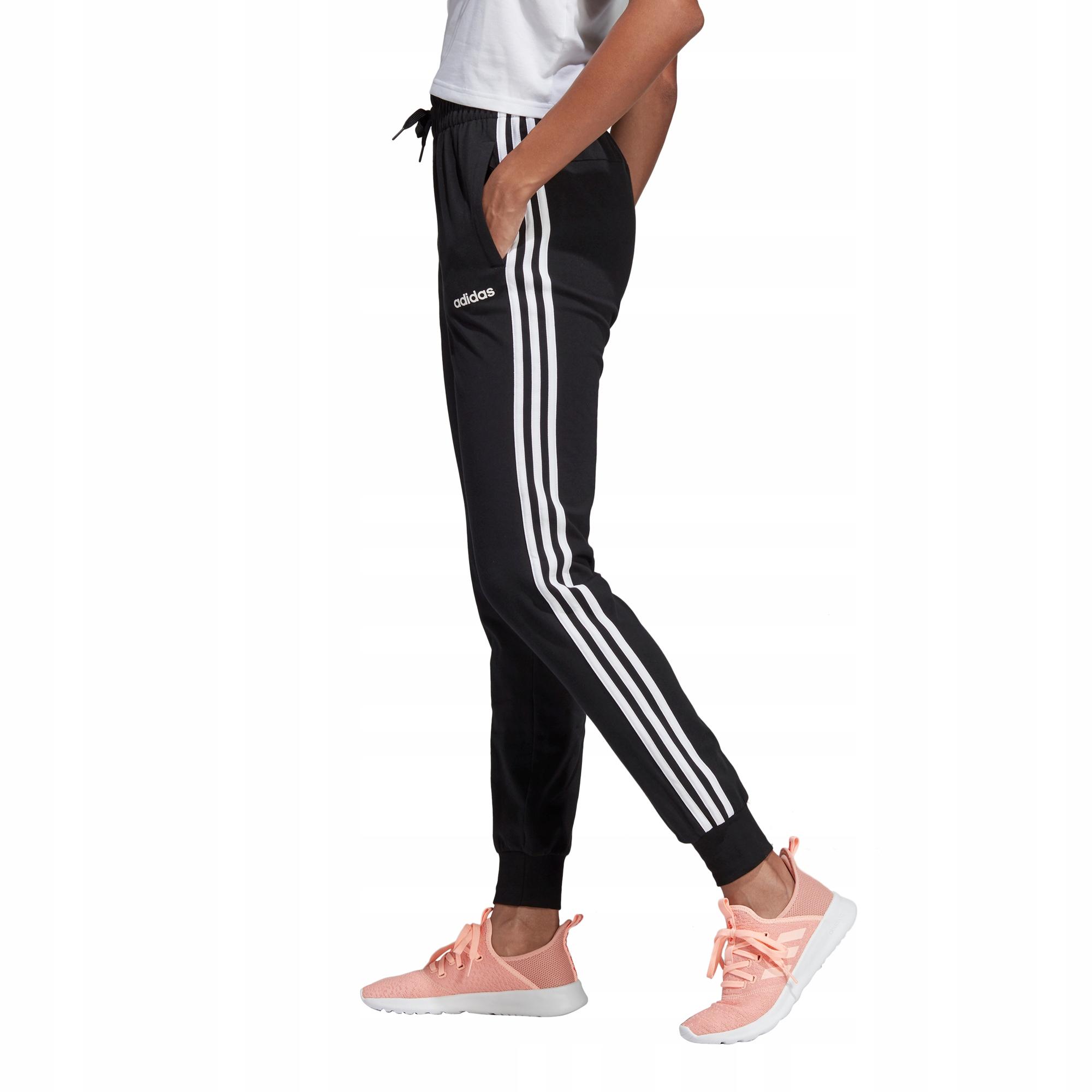 taniej styl mody 2018 buty Spodnie adidas Essentials 3-Stripes DP2377 S - 7842760037 ...