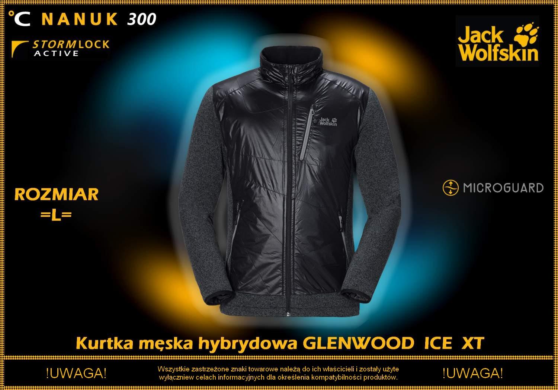 Męska Kurtka Jack Wolfskin GLENWOOD ICE XT