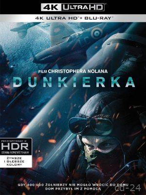 Dunkierka 4K (Ultra HD Blu-ray) HIT 2017 !!