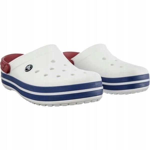 Klapki Crocs Crocband Chodaki Białe White 43.5 M10