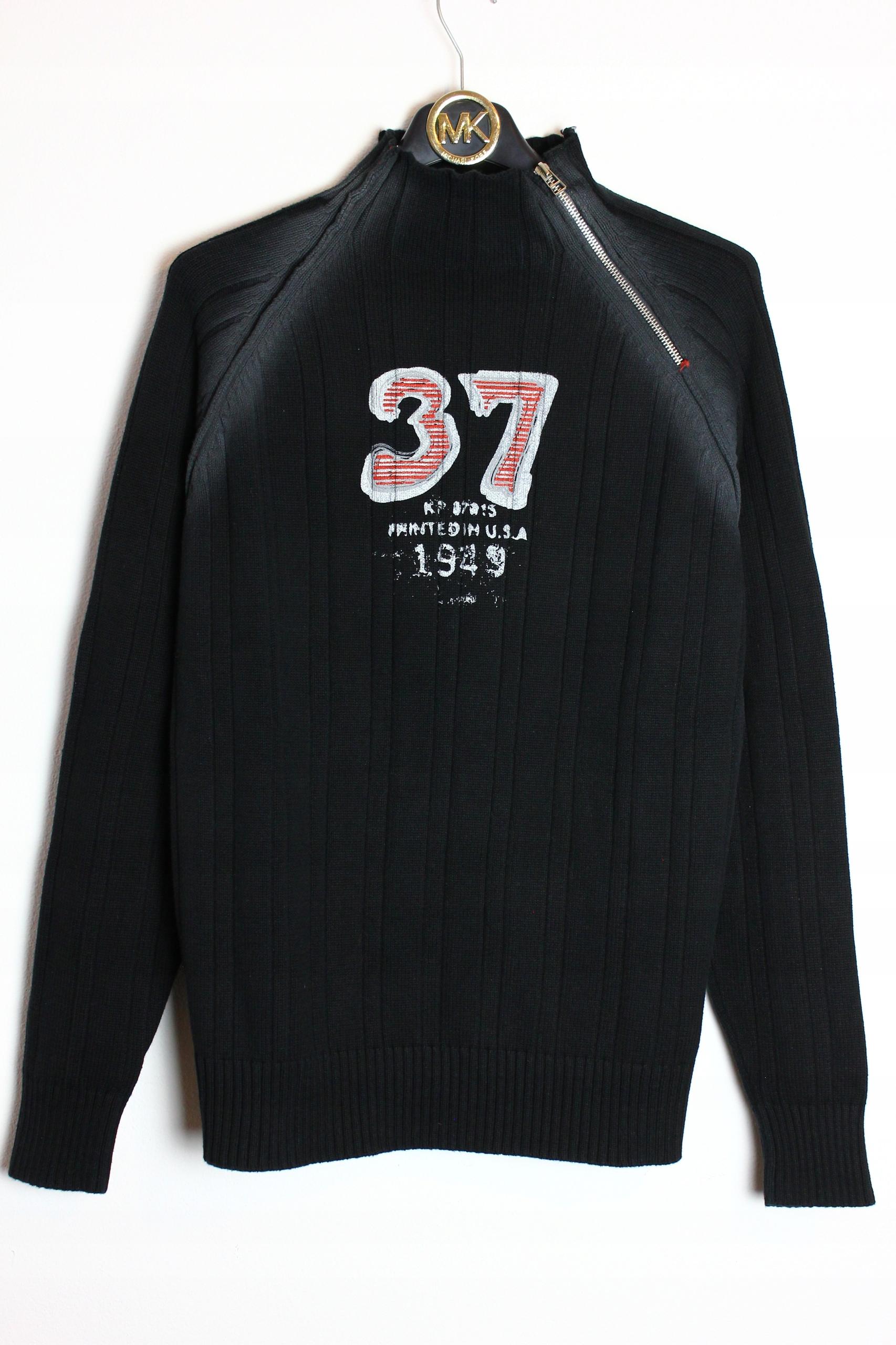 03cfcf0ff Czarny sweter zip vintage denim Jack&Jones L - 7823620638 ...