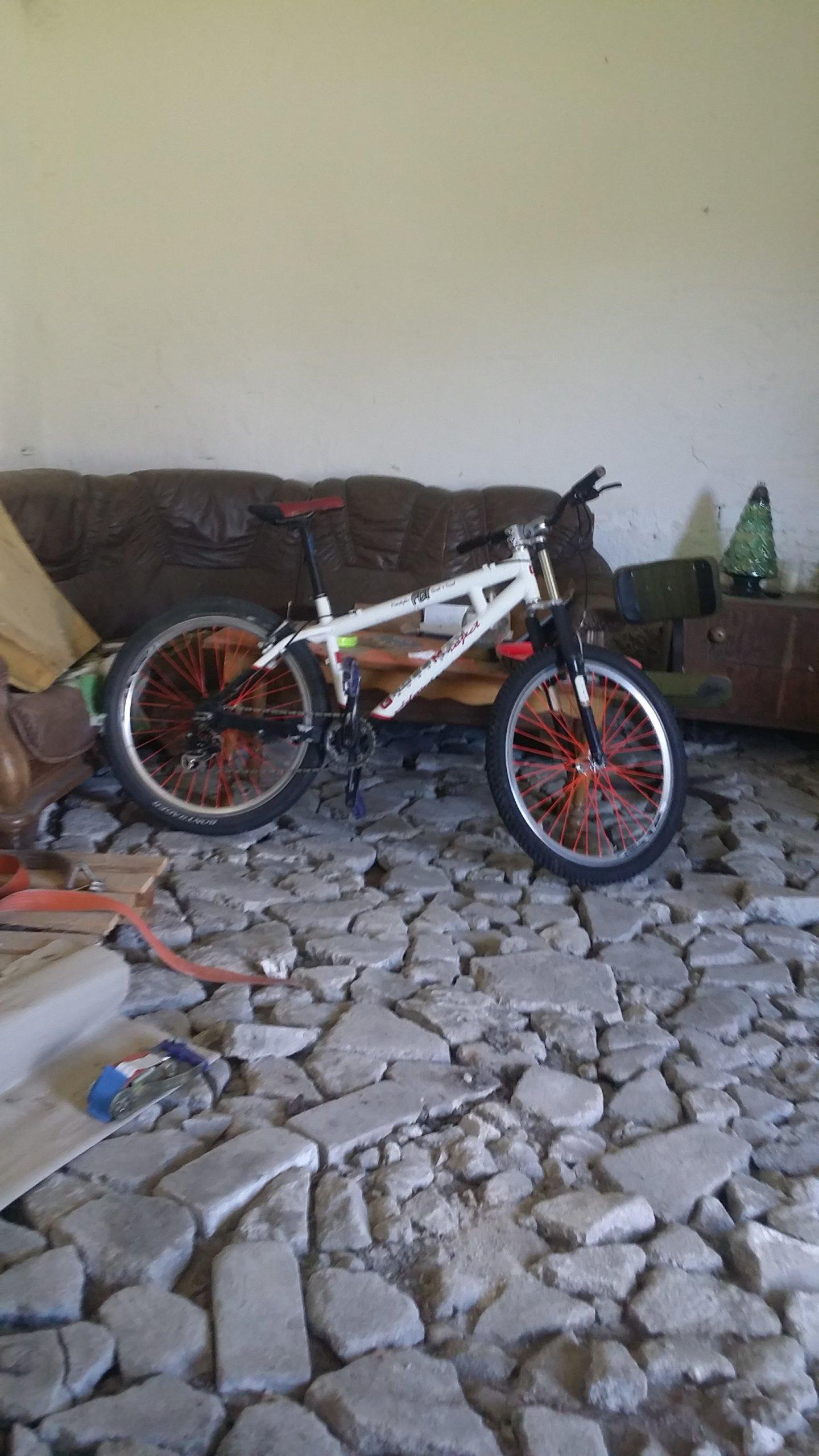 Rower wyczynowy grossman project dual trial