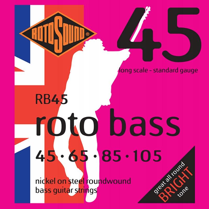 Struny ROTOSOUND RB45 Roto Bass (45-105) Nickel