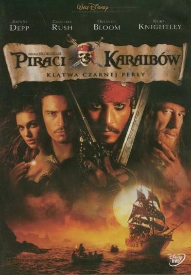 Piraci z Karaibów - Klątwa czarnej perły DVD