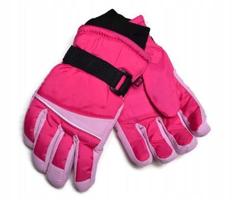 Rękawiczki narciarskie dziecięce ocieplane YO