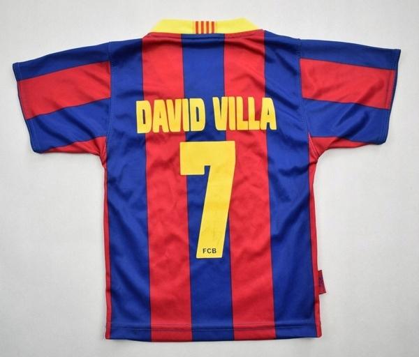 Official 2010-11 FC BARCELONA DAVID VILLA 86-92cm