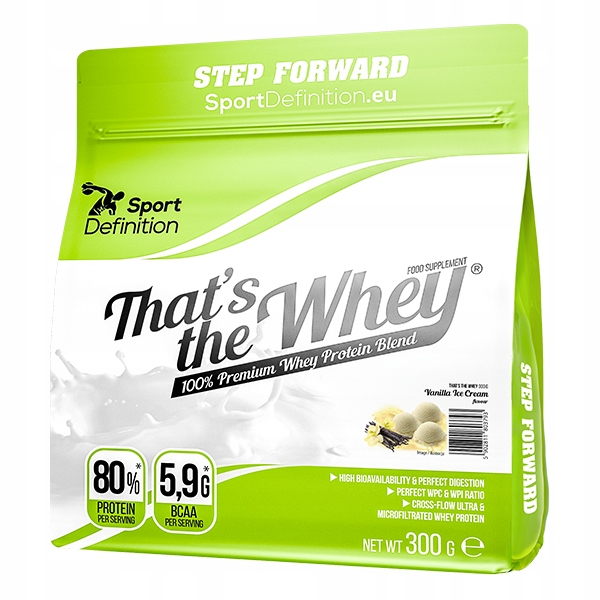 Sport Def. That's The Whey - 300g wanilia toffi
