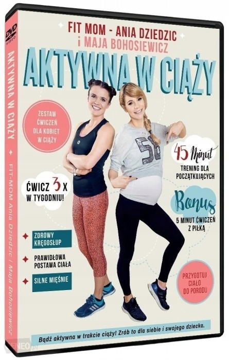 Aktywna w ciąży DVD FIT MOM Ania Dziedzic