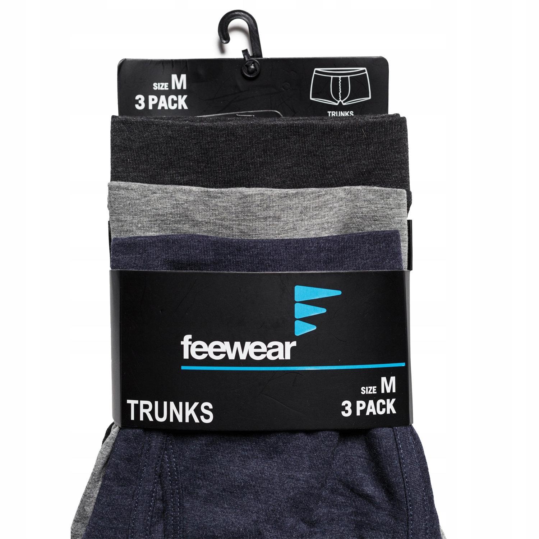 FEEWEAR (XL) SPARTA bokserki majtki bawełna 3-pak