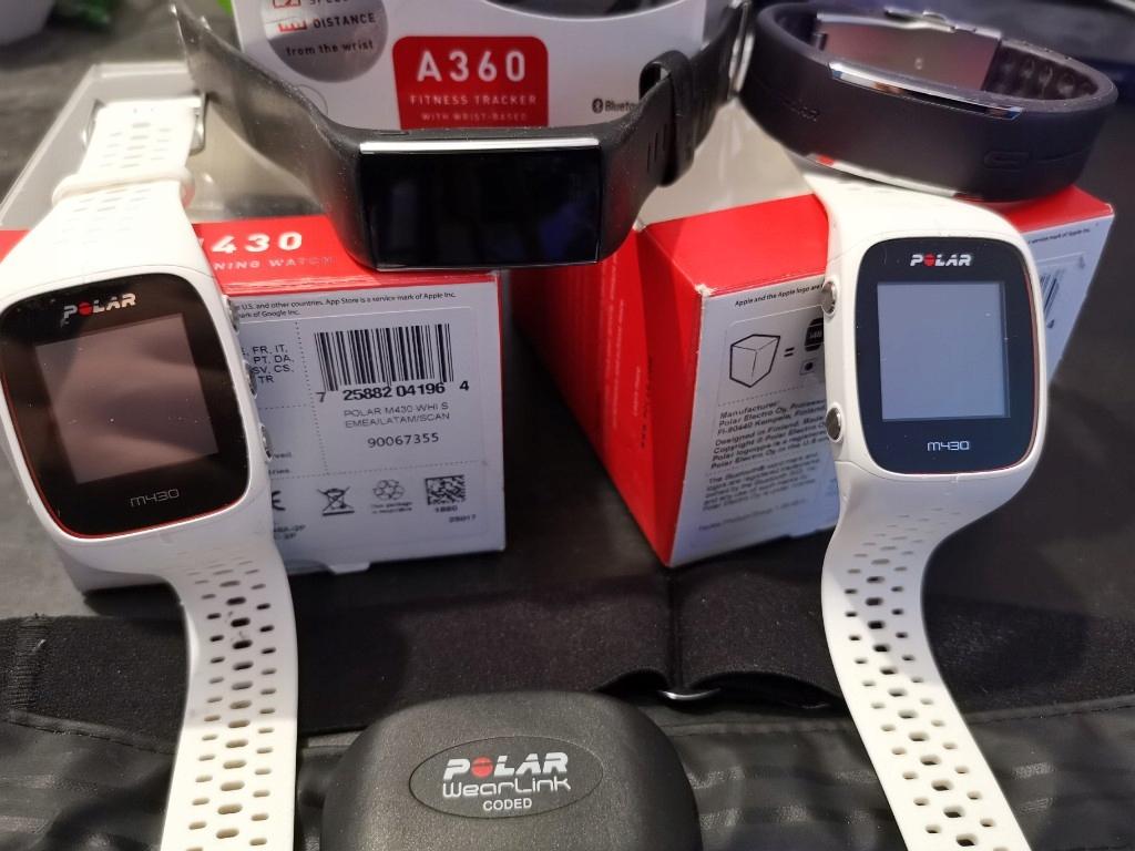 zegarki fitness smartband POLAR M430 A320 LOOP PAS