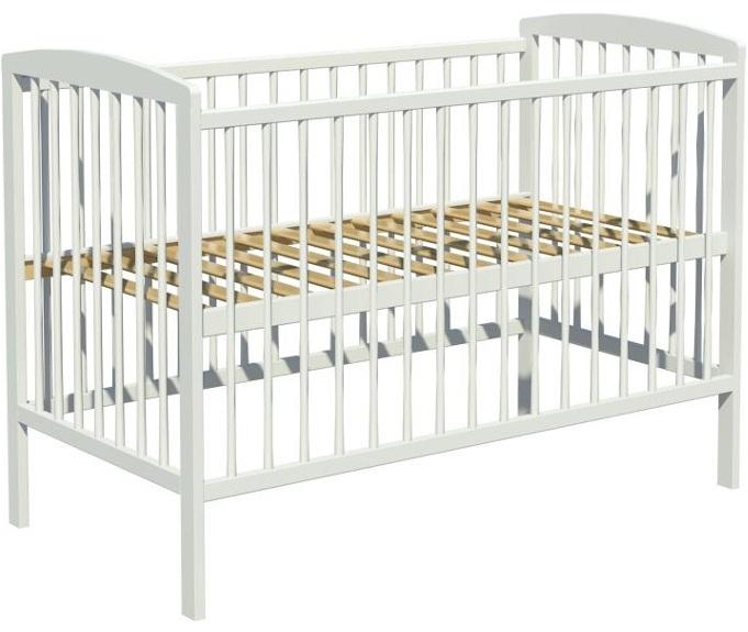 Łóżeczko dziecięce KACPER 120x60cm biały
