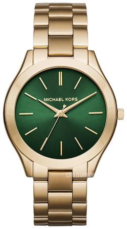 Zegarek Michael Kors Runway MK3435 zielona tarcza
