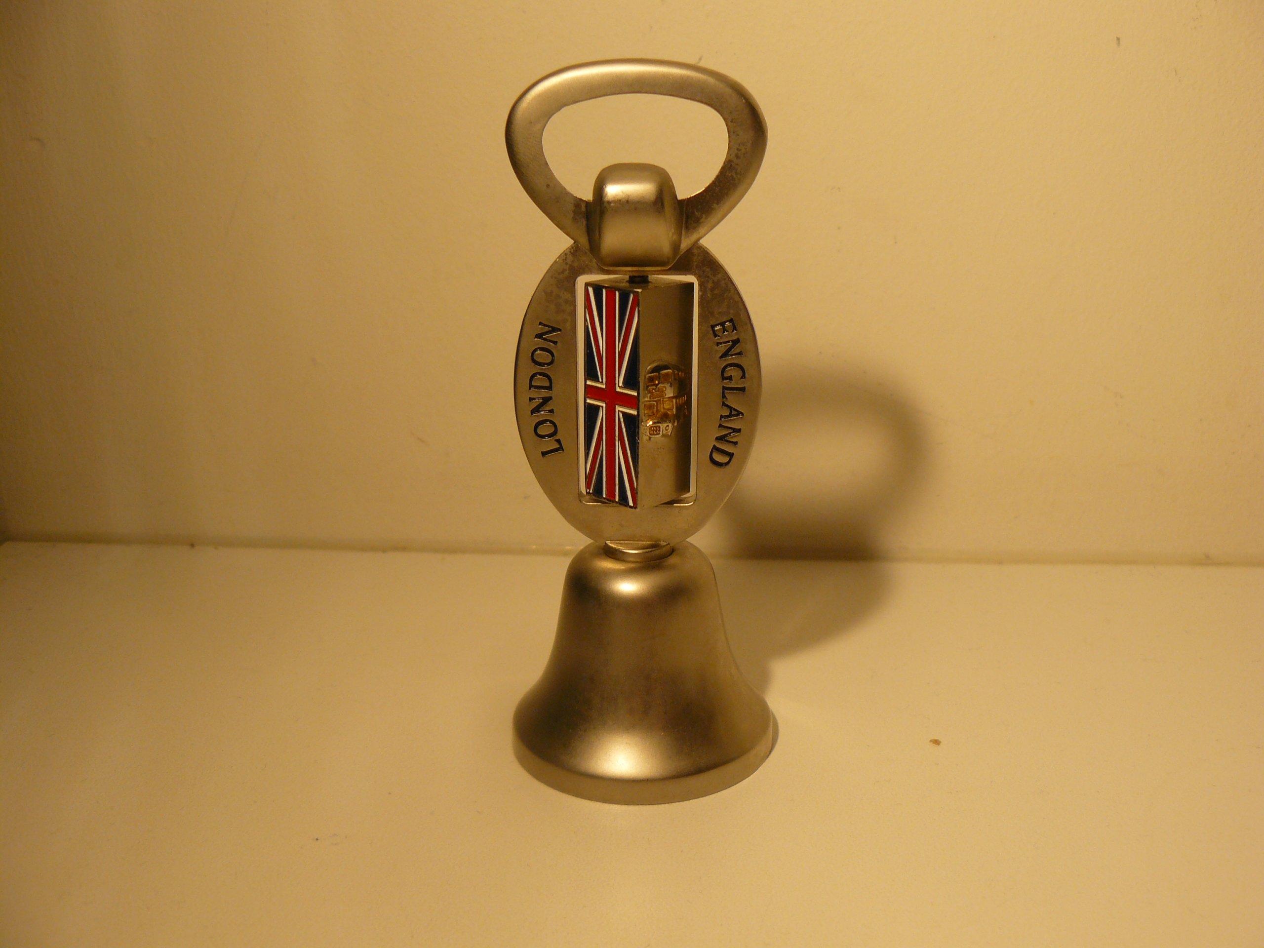 Dzwonek otwieracz 2w1 Angielski PUB BAR ! HARRODS