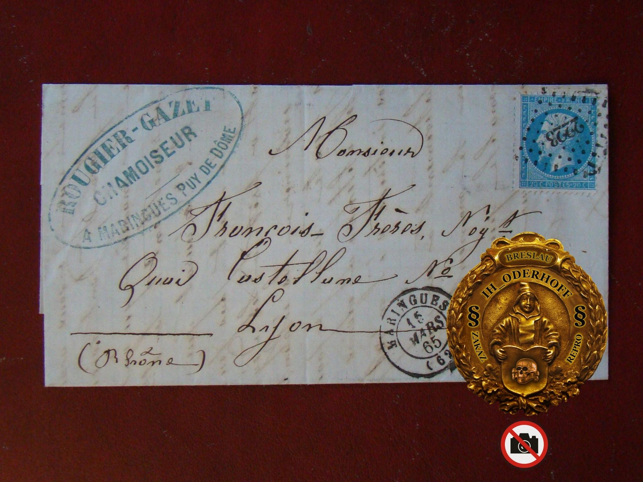 France=Napoleon III 1865.r.Lux C5638